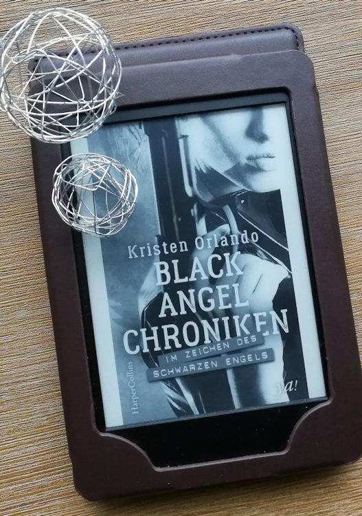 """""""Black-Angel-Chroniken – Im Zeichen des schwarzen Engels"""" von Kristen Orlando"""