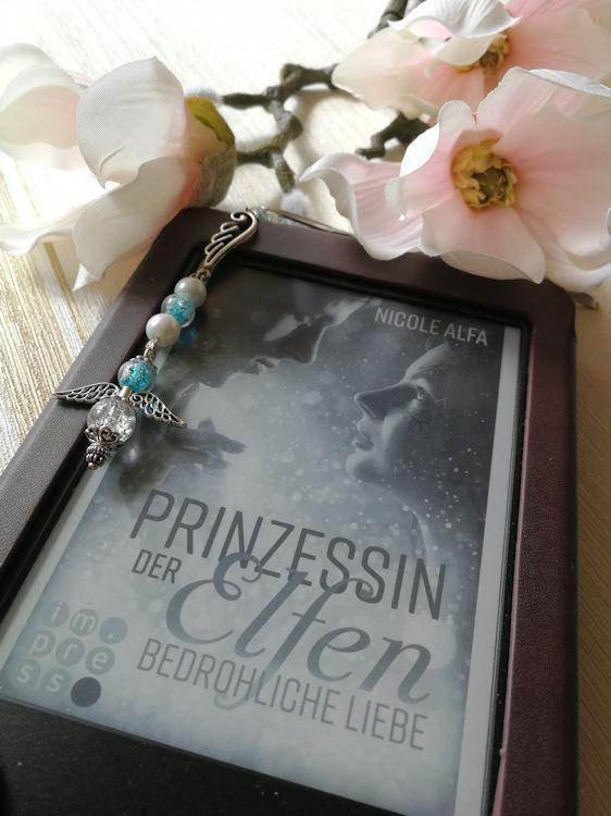 """""""Prinzessin der Elfen 1: Bedrohliche Liebe"""" von Nicole Alfa"""