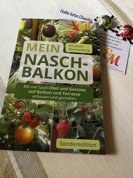 """""""Mein Nasch-Balkon – Sonderedition"""" von Elisabeth Mecklenburg"""