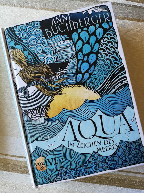 """""""Mondvogel-Saga (2) – Aqua – Im Zeichen des Meeres"""" von Anne Buchberger"""