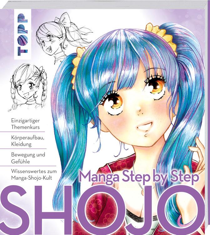"""Manga Step by Step Shojo"" von Gecko Keck"