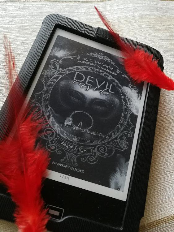 """Devil Inside – Finde mich"" von Jo D. Shannon & Jacqueline V. Droullier"