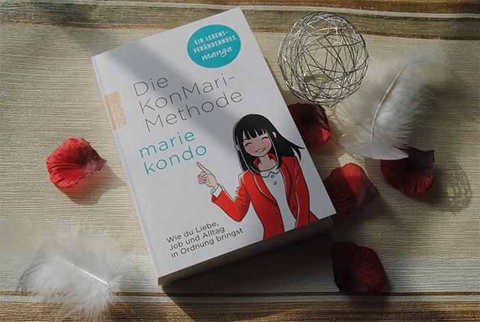 """""""Die KonMari-MethodeWie du Liebe, Job und Alltag in Ordnung bringst. Ein Manga"""" von Marie Kondo"""