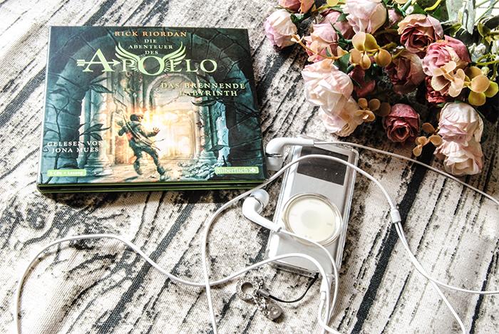 """""""Die Abenteuer des Apollo (3) – Das brennende Labyrinth"""" von Rick Riordan"""