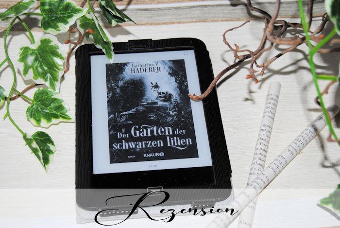 """""""Black Alchemy (2) – Der Garten der schwarzen Lilien"""" von Katharina v. Harderer"""