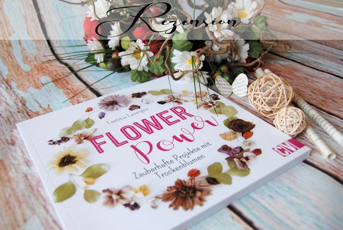 """""""Flower Power – Zauberhafte Projekte mit Trockenblumen"""" von Laetitia Lazerges"""