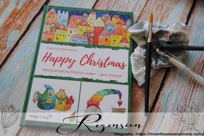 """""""Happy Christmas Weihnachtliche Motive malen – ganz einfach"""" von Clarissa Hagenmeyer"""