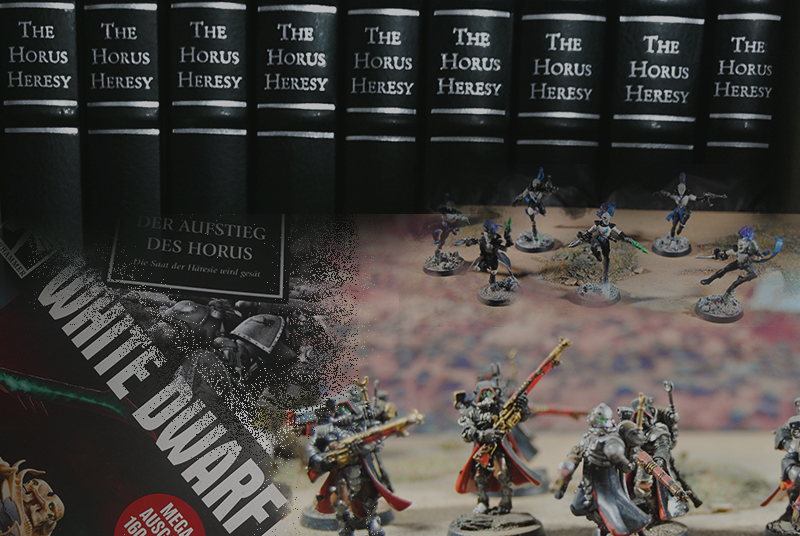 "Audible Magazin informiert über ""The Horus Heresy"""